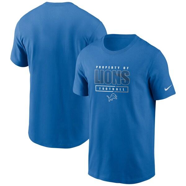 NFL ライオンズ Tシャツ チームプロパティー エッセンシャル ナイキ/Nike ブルー