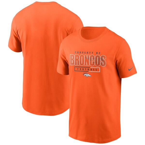 NFL ブロンコス Tシャツ チームプロパティー エッセンシャル ナイキ/Nike オレンジ