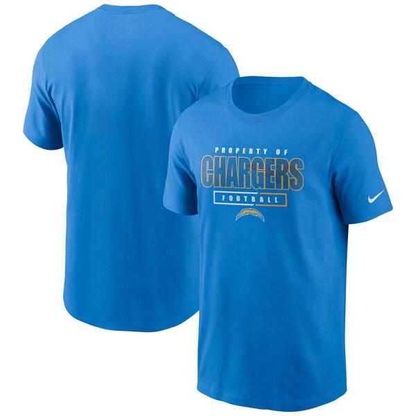 NFL チャージャース Tシャツ チームプロパティー エッセンシャル ナイキ/Nike パウダーブルー