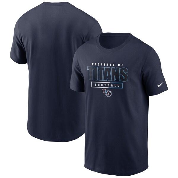NFL タイタンズ Tシャツ チームプロパティー エッセンシャル ナイキ/Nike ネイビー