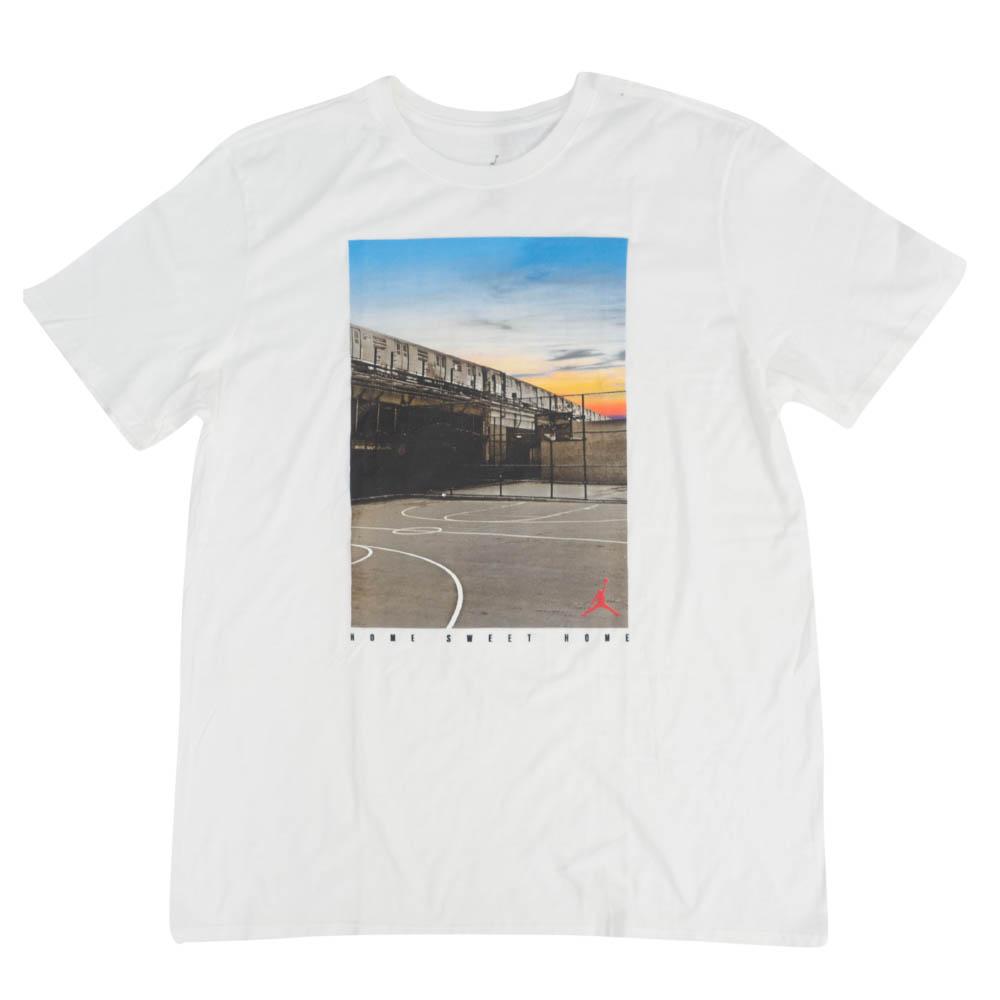 ジョーダン Tシャツ 半袖 JORDAN Tシャツ ホワイト 白 Jordan NYC Home Sweet Home T-Shirt