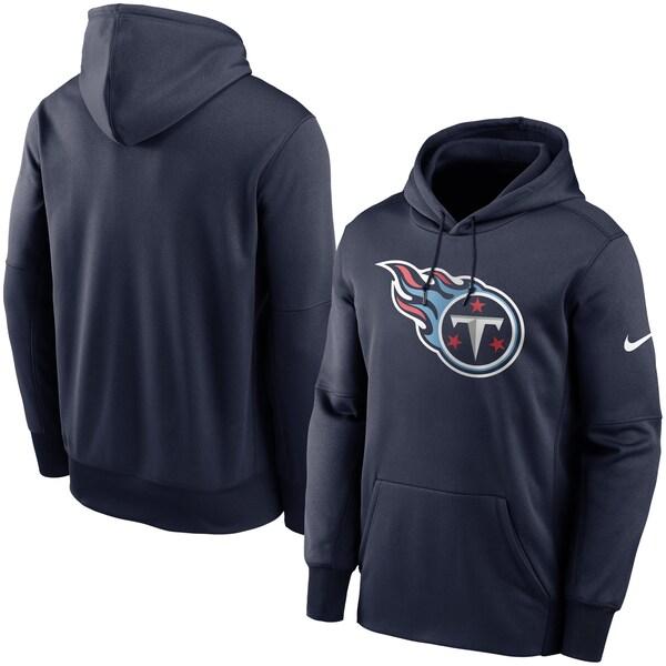 NFL タイタンズ パーカー/フーディー プライマリーロゴ プルオーバー ナイキ/Nike ネイビー