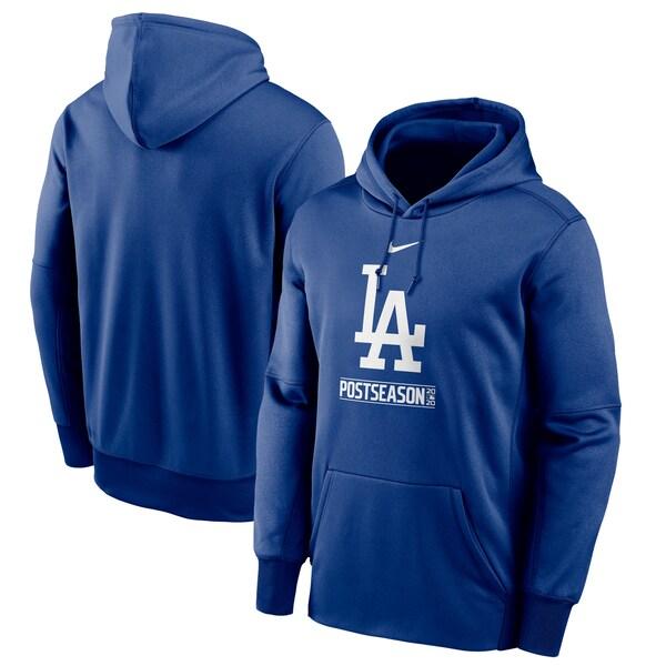 ドジャース パーカー ナイキ NIKE メンズ 選手着用モデル ブルー MLB 2020 ポストシーズン ロサンゼルス フーディー MLB2020PS