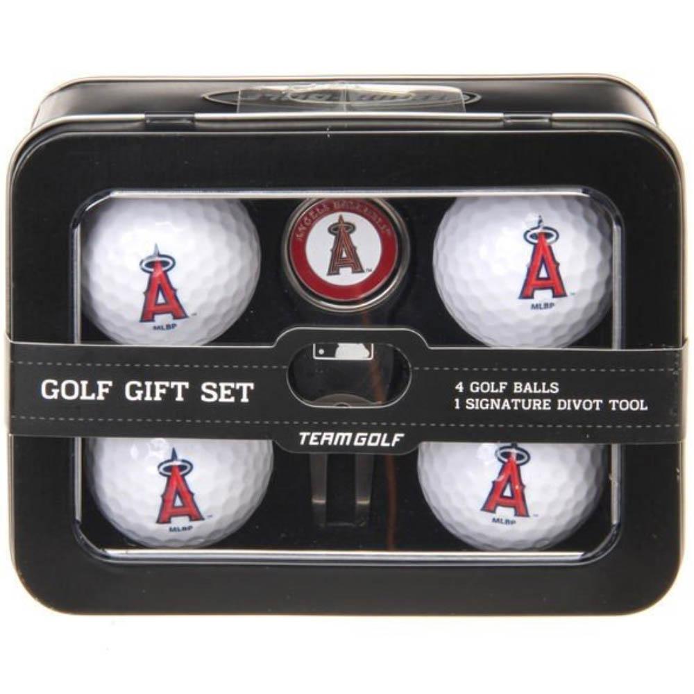 本店は エンゼルス MLB チームロゴ ゴルフボールセット4 Team Golf 201014IK, サンビジコムshop 828a038a