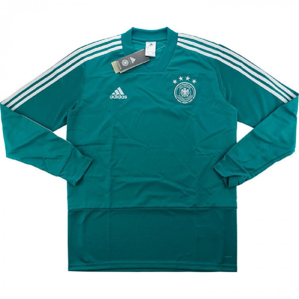 ドイツ代表 Tシャツ アディダス 2018-19 トレーニングトップ Adidas グリーン サッカー