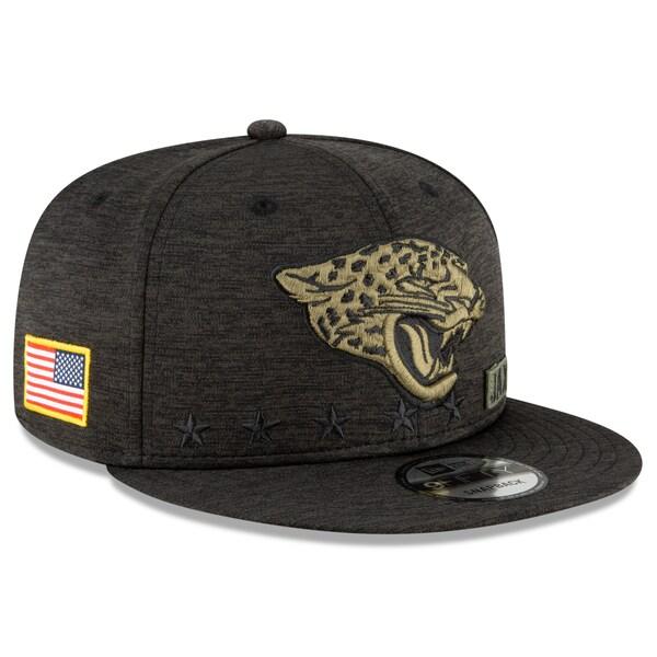 NFL キャップ 帽子 ジャガーズ ニューエラ New Era 9FIFTY 2020 サルートトゥサービス アジャスタブル スナップバック ブラック