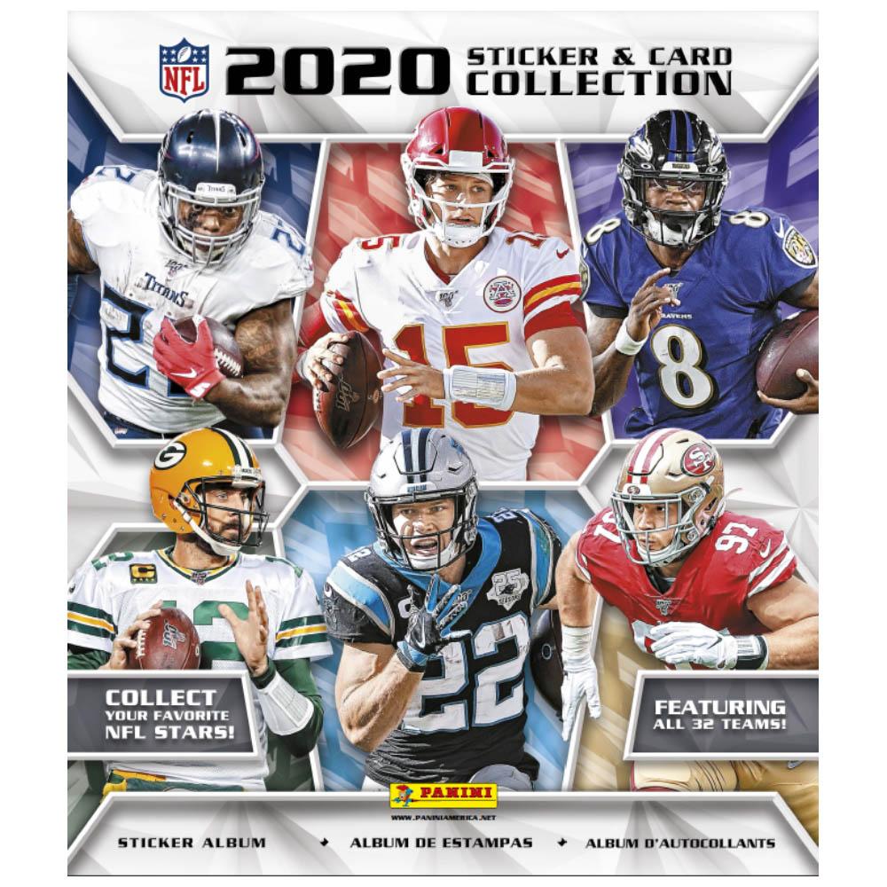あす楽対応 コレクター要チェック NFL2020 21ステッカーコレクション NFL ステッカー 2020-21 PANINI グッズ 海外限定 ステッカーコレクションアルバム 国内在庫