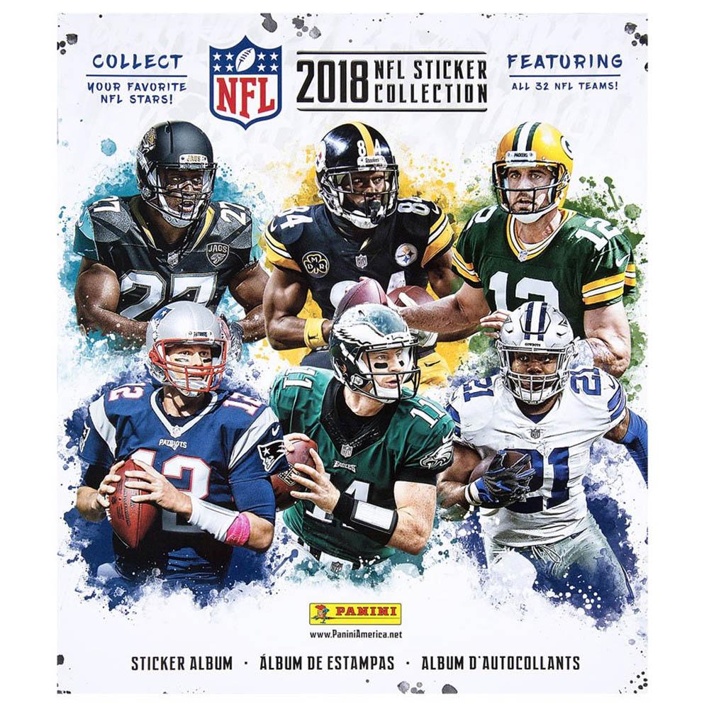 あす楽対応 2018-19シーズン版NFLステッカーコレクションアルバム NFL グッズ 新作製品 爆売り 世界最高品質人気 ステッカーコレクション パニーニ シール 2018-19 PANINI