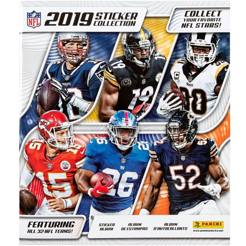 あす楽対応 NEW ARRIVAL 2019-20シーズン版NFLステッカーコレクションアルバム NFL グッズ ステッカーコレクション ギフト PANINI 2019-20 パニーニ シール