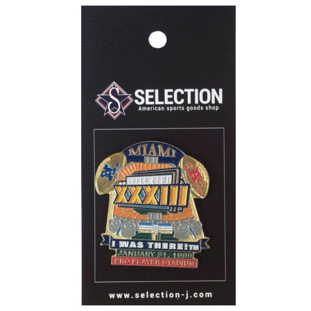 あす楽対応 全店販売中 第33回スーパーボウル優勝記念ピンバッチ NFL セール品 ピンバッチ 第33回スーパーボウル優勝記念ピンズ Super There XXXIII Bowl I Was PeterDavid