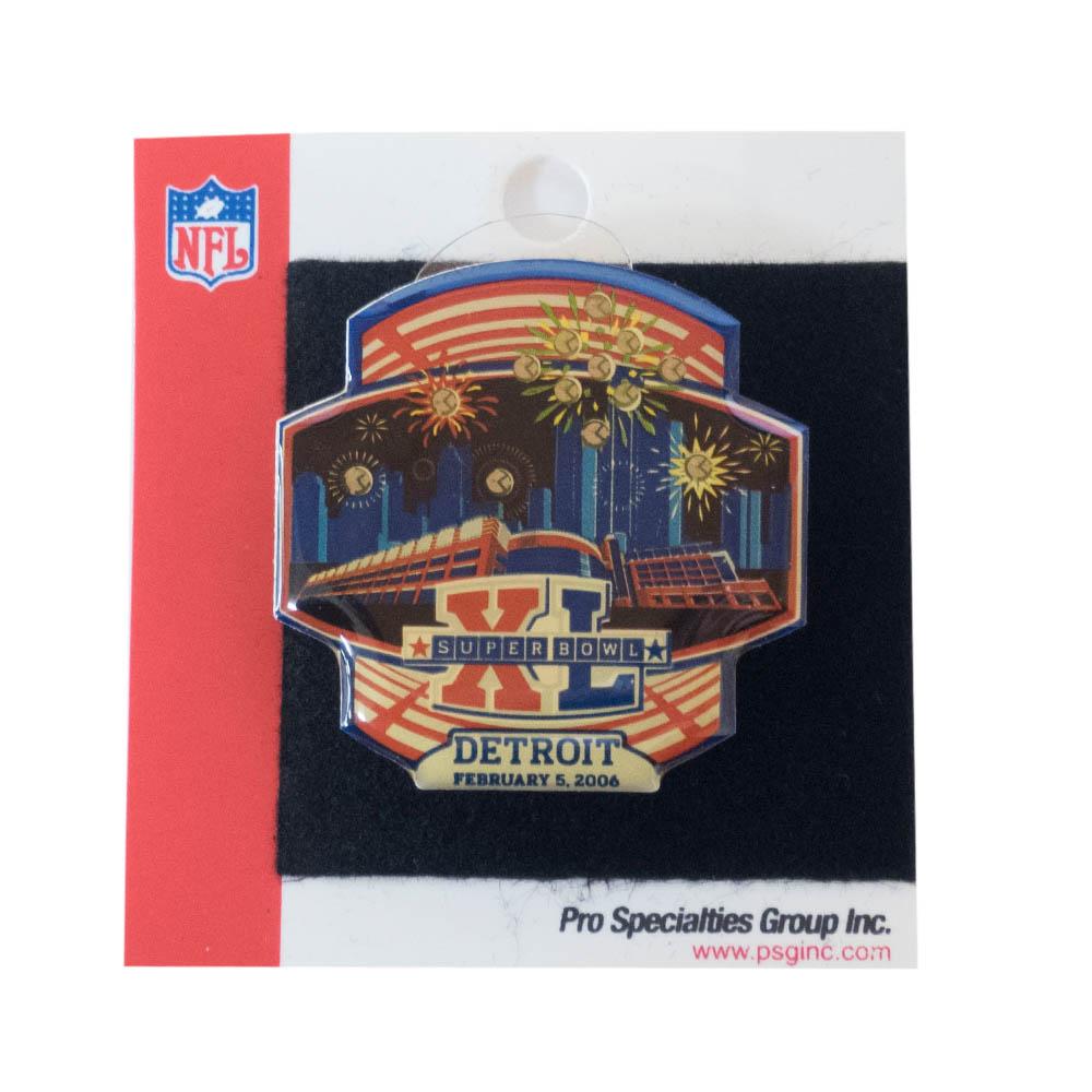 あす楽対応 第40回スーパーボウル記念マグネット NFL グッズ 第40回スーパーボウル記念 推奨 マグネット Fireworks XL Bowl Magnet 直営店 Super PSG