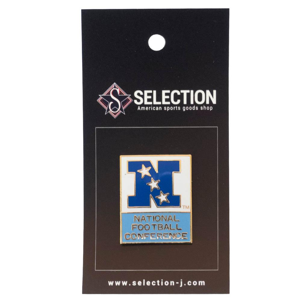 あす楽対応 数量は多 NFCリーグロゴピンバッジ NFL グッズ ピンバッジ ピンズ NFC Logo 2020 Pin