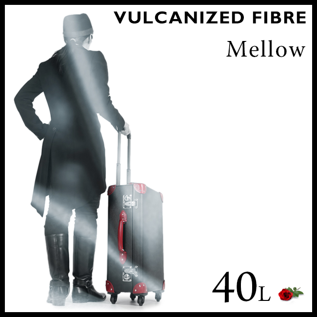 【まもなく終了!カードでP14~18倍!10/25(木)23:59まで】ホクタン メロー バルカナイズドファイバー スーツケース 40L MELLOW-M 7-831