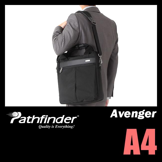 【まもなく終了!会員ランク+D4倍/P3倍/G2倍】パスファインダー アベンジャー ビジネスバッグ メンズ ショルダーバッグ A4 PATHFINDER AVENGER PF1814B