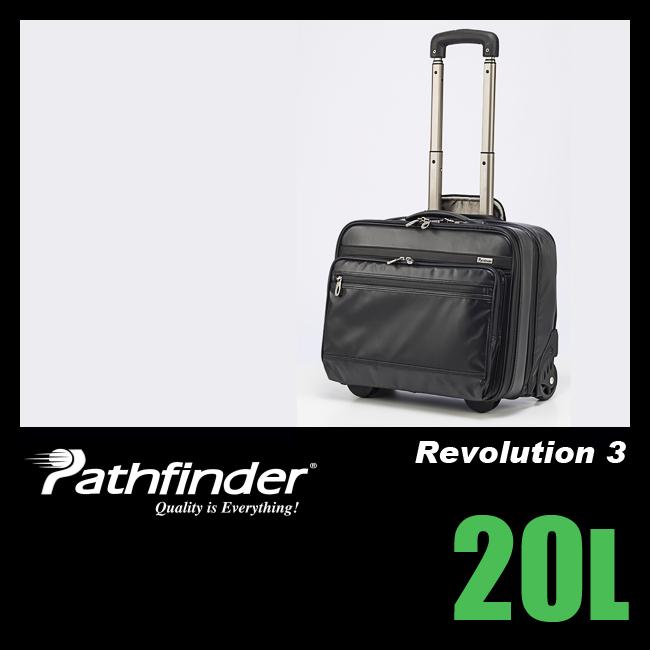 【まもなく終了!カードでP14~18倍!10/25(木)23:59まで】パスファインダー レボリューション3 ビジネスキャリー メンズ 20L PATHFINDER Revolution 3 PF5427B