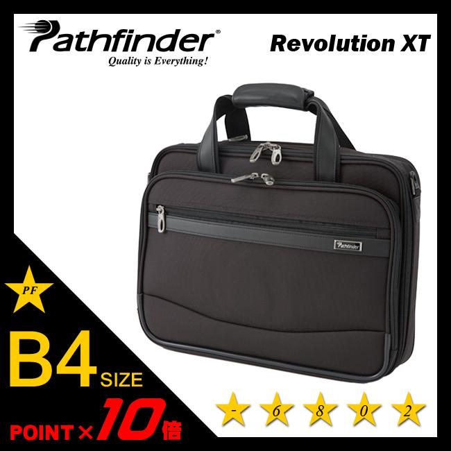 パスファインダー レボリューションXT ビジネスバッグ B4 拡張機能 エキスパンダブル ブリーフケース メンズ PATHFINDER PF6802B