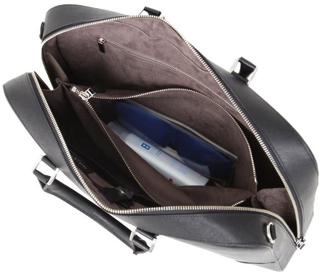【楽天カードP23~27倍★7/5(金)限定】ペッレモルビダ ブリーケース ビジネスバッグ メンズ 本革 型押しレザー A4 キャピターノ PELLE MORBIDA CA013