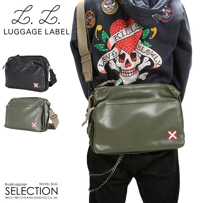 【カード17倍】吉田カバン ラゲッジレーベル ライナー ショルダーバッグ メンズ 赤バッテン A4 LUGGAGE LABEL 951-09239