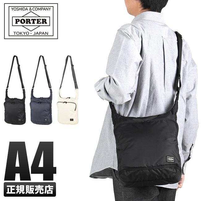 【カード17倍】吉田カバン ポーター フラッシュ ショルダーバッグ メンズ A4 PORTER 689-05939