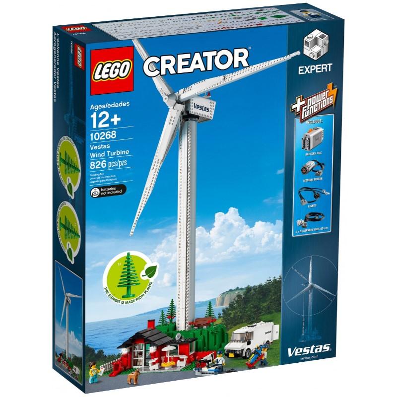 レゴ (LEGO) クリエイター エキスパート ベスタスの風力発電機 10268