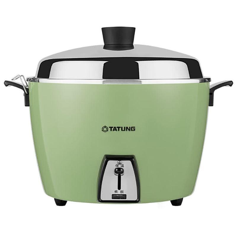 大同電鍋ー大同電気釜(大同電鍋) 炊飯器 10合 ーグリーンー Lサイズ 【並行輸入品】