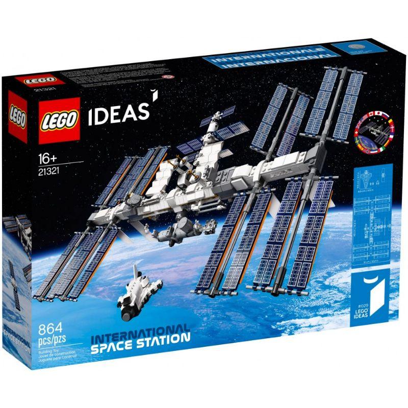 レゴ (LEGO) アイデア 国際宇宙ステーション 21321