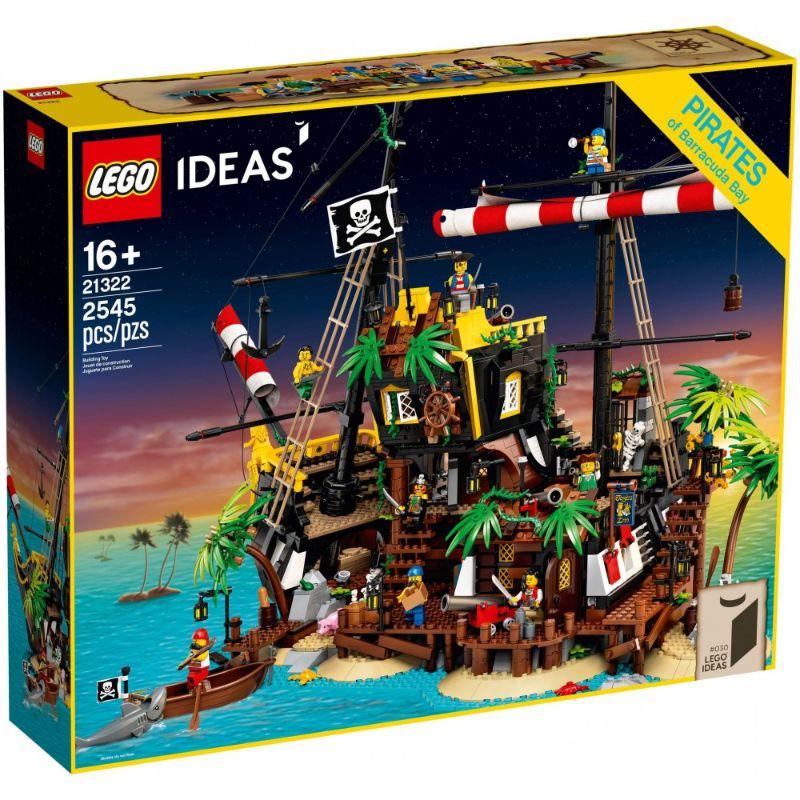 レゴ (LEGO) アイデア 赤ひげ船長の海賊島 21322