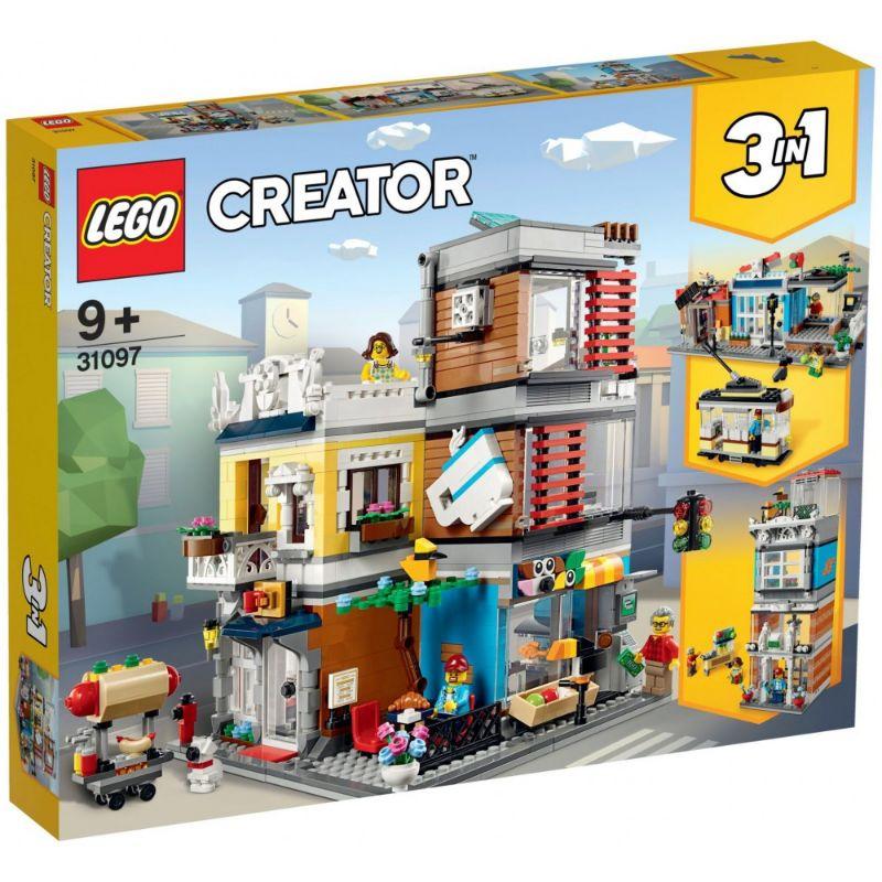 レゴ (LEGO) クリエイター エキスパート タウンハウス ペットショップ&カフェ 31097