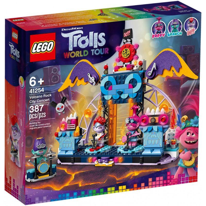 レゴ (LEGO) Trolls WORLD TOUR olcano Rock City Concert オルカノロックシティコンサート 41254