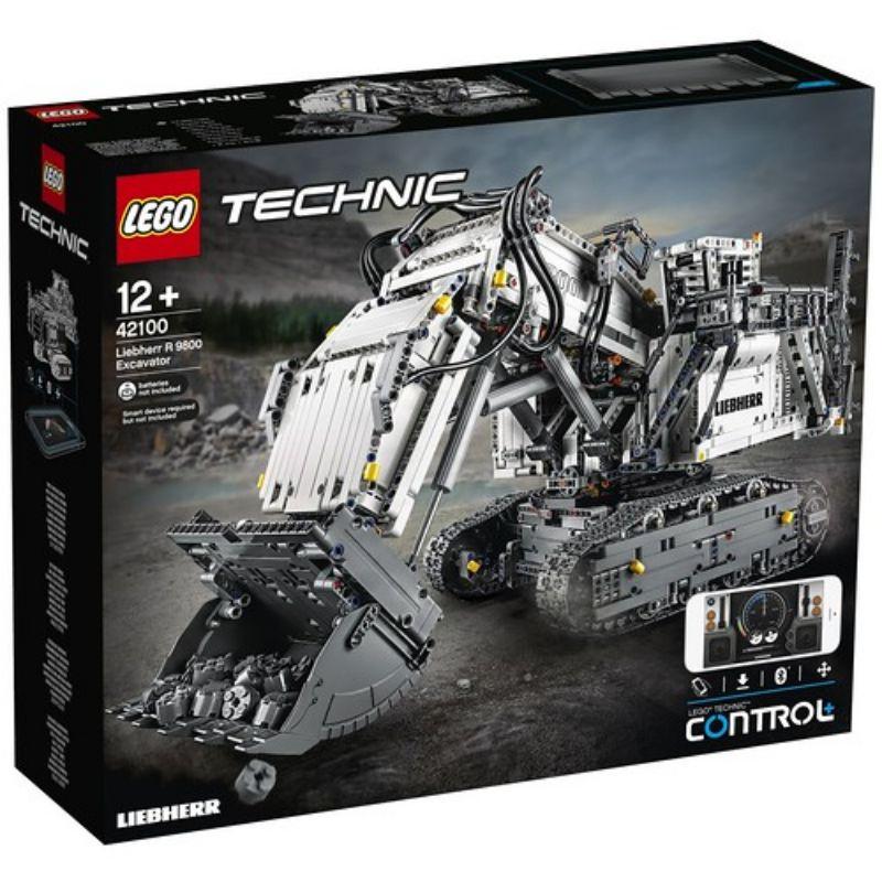 レゴ (LEGO) テクニック Liebherr R 9800 Excavator 42100