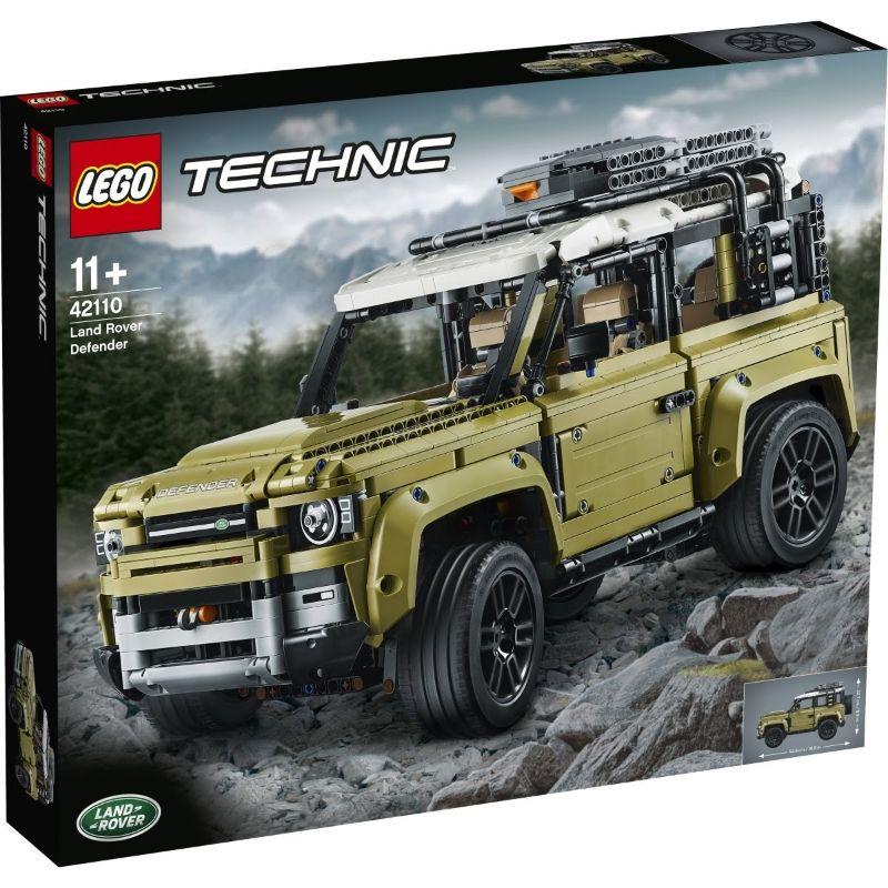 レゴ (LEGO) テクニック ランドローバー・ディフェンダー 42110