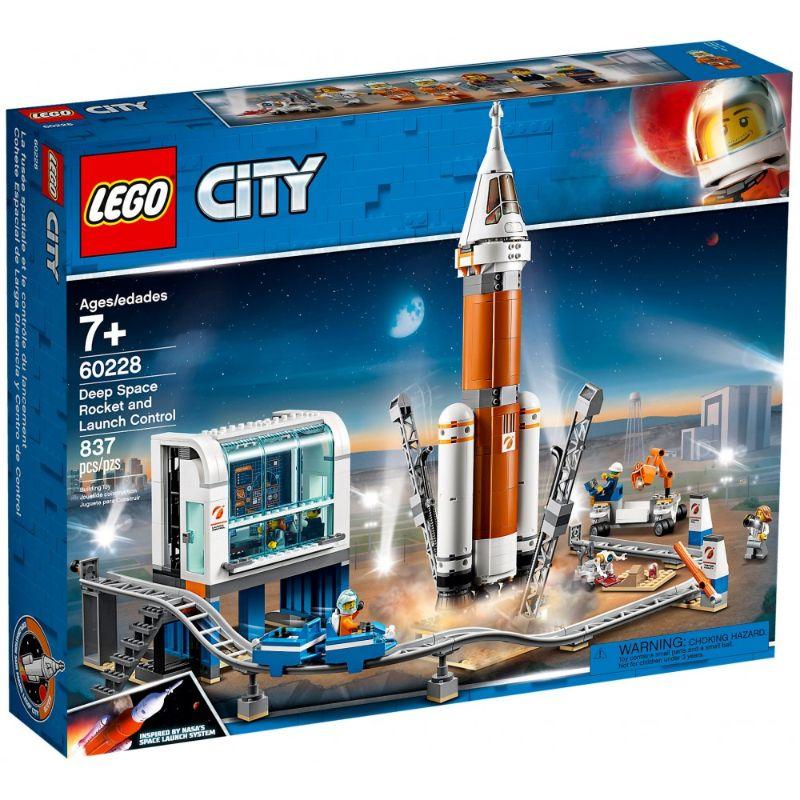 レゴ LEGO シティ 超巨大ロケットと指令本部 特価品コーナー☆ クリアランスsale!期間限定! 60228