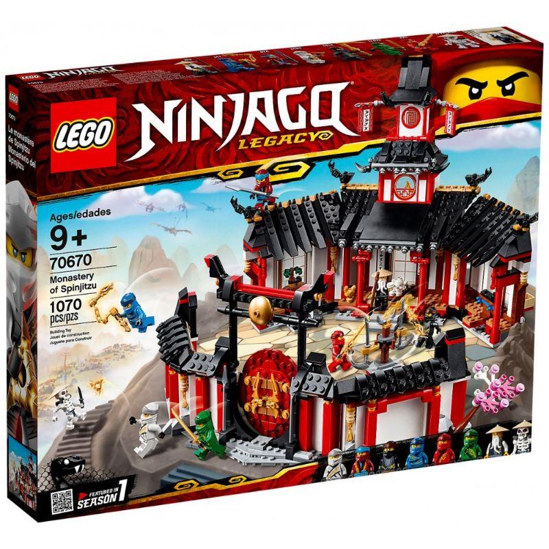 レゴ (LEGO) ニンジャゴー ニンジャ道場 70670