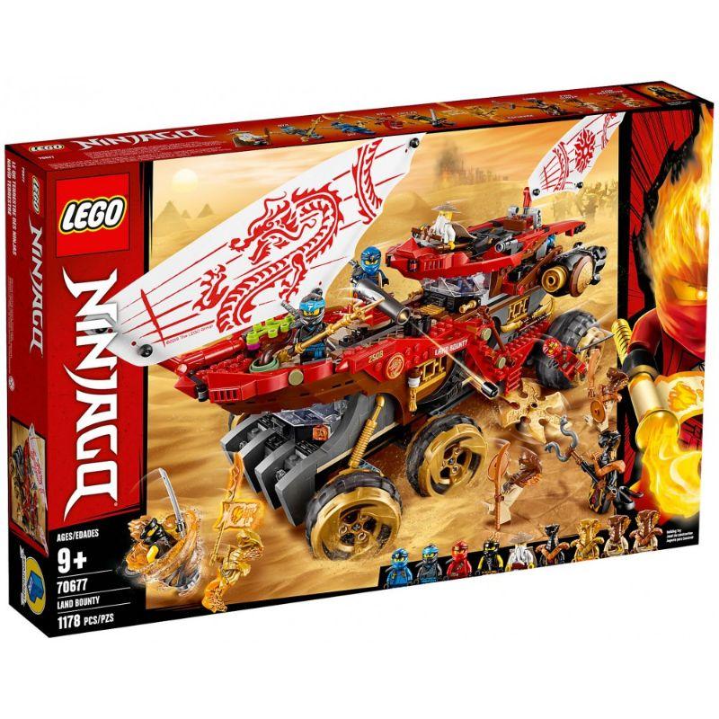 レゴ (LEGO) ニンジャゴー 陸上戦艦バウンティ号 70677
