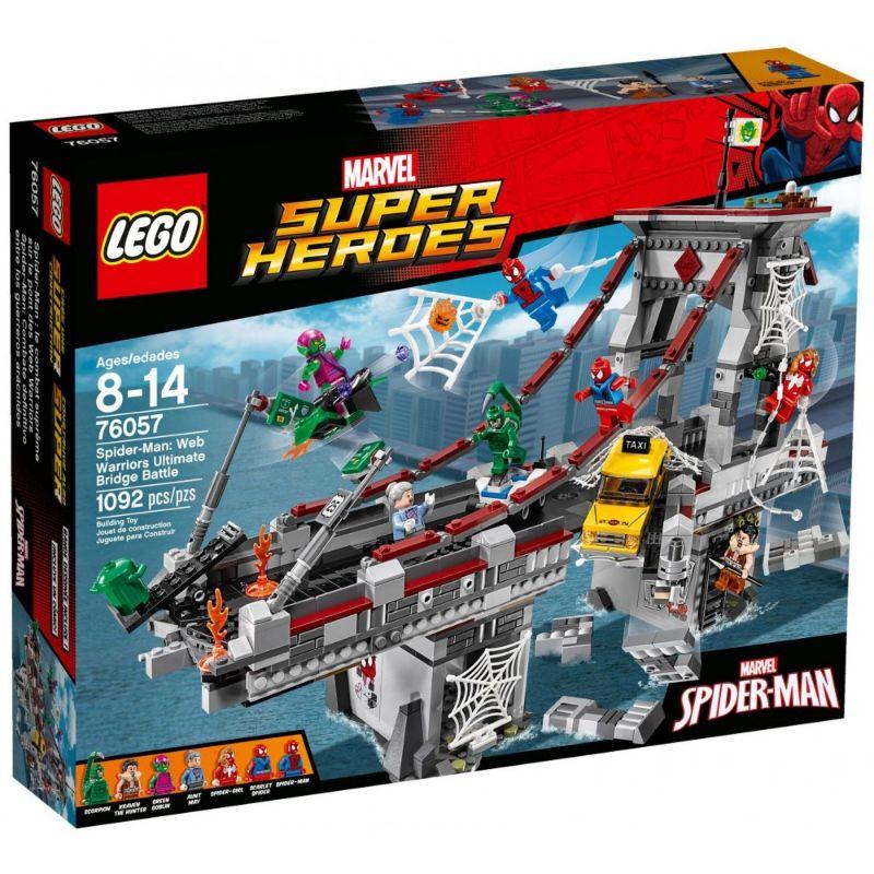 レゴ (LEGO) マーベル スーパー・ヒーローズ スパイダーマン: ウェブ・ウォーリアーズ 橋の上の大決戦 76057
