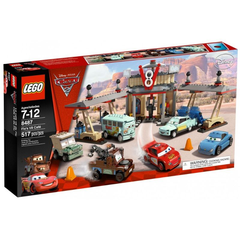 レゴ (LEGO) カーズ フローのV8カフェ 8487