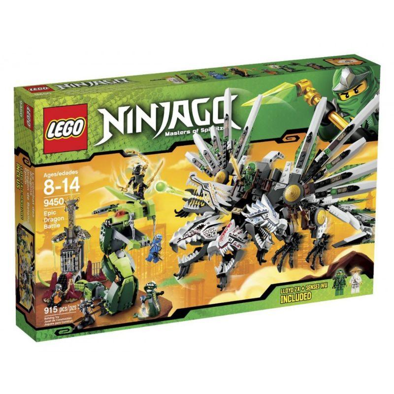 レゴ (LEGO) ニンジャゴー 激闘ドラゴン・バトル 9450