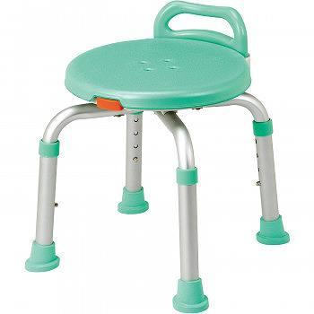 ご予約品 らくらく回転チェア 全品最安値に挑戦 YK-360GR 送料無料 風呂椅子 バススツール イス シャワーベンチ バスチェアー