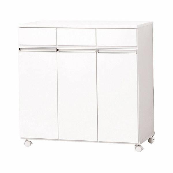 ダイニングダストボックス 3D ホワイト 92195 【送料無料】(ゴミ分別ボックス、ダストボックス、ゴミ箱、ごみ箱、キッチン雑貨)