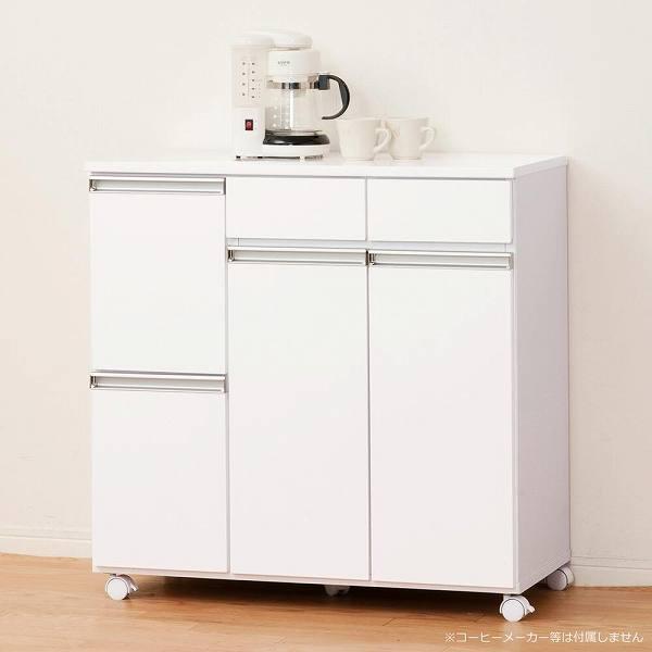 ダイニングダストボックス 4D ホワイト 23713 【送料無料】(ゴミ分別ボックス、ダストボックス、ゴミ箱、ごみ箱、キッチン雑貨)