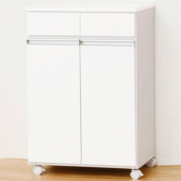 ダイニングダストボックス 2D ホワイト 23703 【送料無料】(ゴミ分別ボックス、ダストボックス、ゴミ箱、ごみ箱、キッチン雑貨)