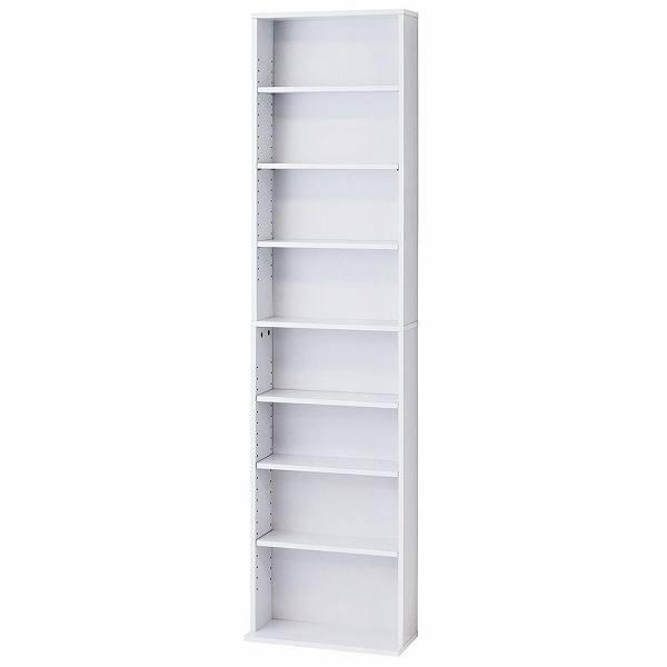 文庫本棚 W450 S ホワイト 39365 【送料無料】(収納家具、ラック、シェルフ、本棚)