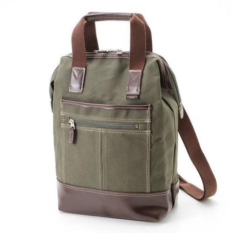 【エバウィン】【日本製】パラフィン加工されたコットン3WAY【ビジネス】(EW21570)【送料無料】(リュック、リクルートバッグ、ビジネスバッグ、カバン、かばん、鞄)