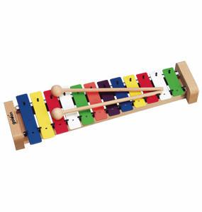 ファミリー カラーメタロフォン(12音)(GD11037)  【送料無料】(玩具、おもちゃ、子供用楽器、インテリア雑貨、楽器)