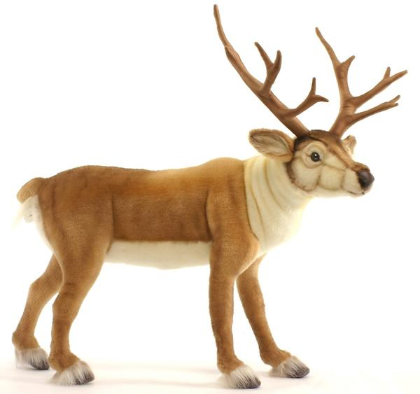 HANSA 北欧シカ 5373【送料無料】(シカ、鹿、人形、置物、オブジェ、ぬいぐるみ、キャラクターグッズ)(ランキング受賞・ぬいぐるみ シカランキング 1位 、2018/9/7デイリー)