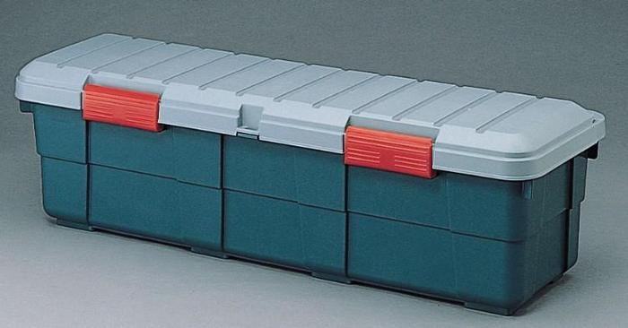 カートランク SE-130 グレー/ダークグリーン 【送料無料】(ケース、アウトドア、レジャー、キャンプ、収納ボックス、ガーデニング、カー用品)