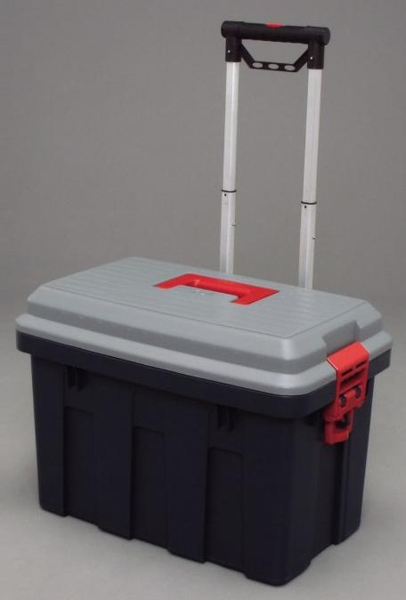 RVキャリー グレー/ダークグリーン 650 【送料無料】(キャリーケース、カート、ワゴン、アウトドア、レジャー、キャンプ、収納ボックス、ガーデニング、カー用品)