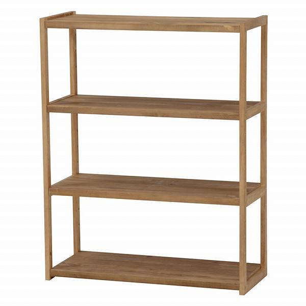 ラック MCC-6143LBR 【送料無料】(オープンラック、シェルフ、リビング家具、収納家具、本棚、書棚)