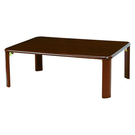 折れ脚テーブル VT-7922-960DBR 【送料無料】(座卓、ローテーブル、センターテーブル、木製テーブル)