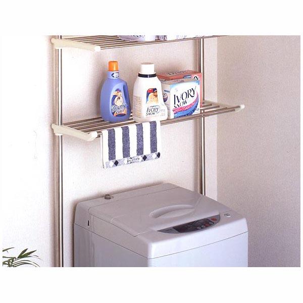 セキスイ ステンレス洗濯機ラック DTSR-50【送料無料】 (インテリア、収納用品、ハンガー、物干し、生活雑貨)